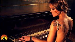 🔴 आराम पियानो संगीत 24/7, हीलिंग टन, ध्यान, सो जाओ, अध्ययन के साथ सुंदर पियानो संगीत