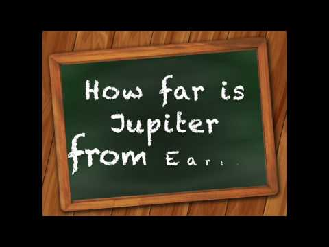 How Far Is Jupiter From Earth