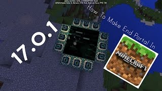 how to make a end portal in minecraft pocket edition 1 0   ender dragon