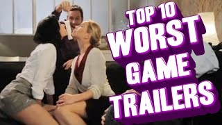 Top 10 - Worst game trailers of all time