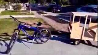 Concept 4 wheel bike trailer