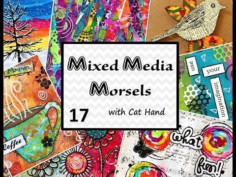 Mixed Media Morsels 17 - Using Paper Napkins