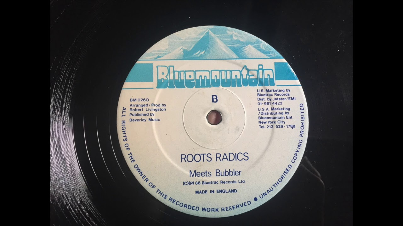 Dennis Brown - Lovely Feeling + Version (Blue Mountain 1986)