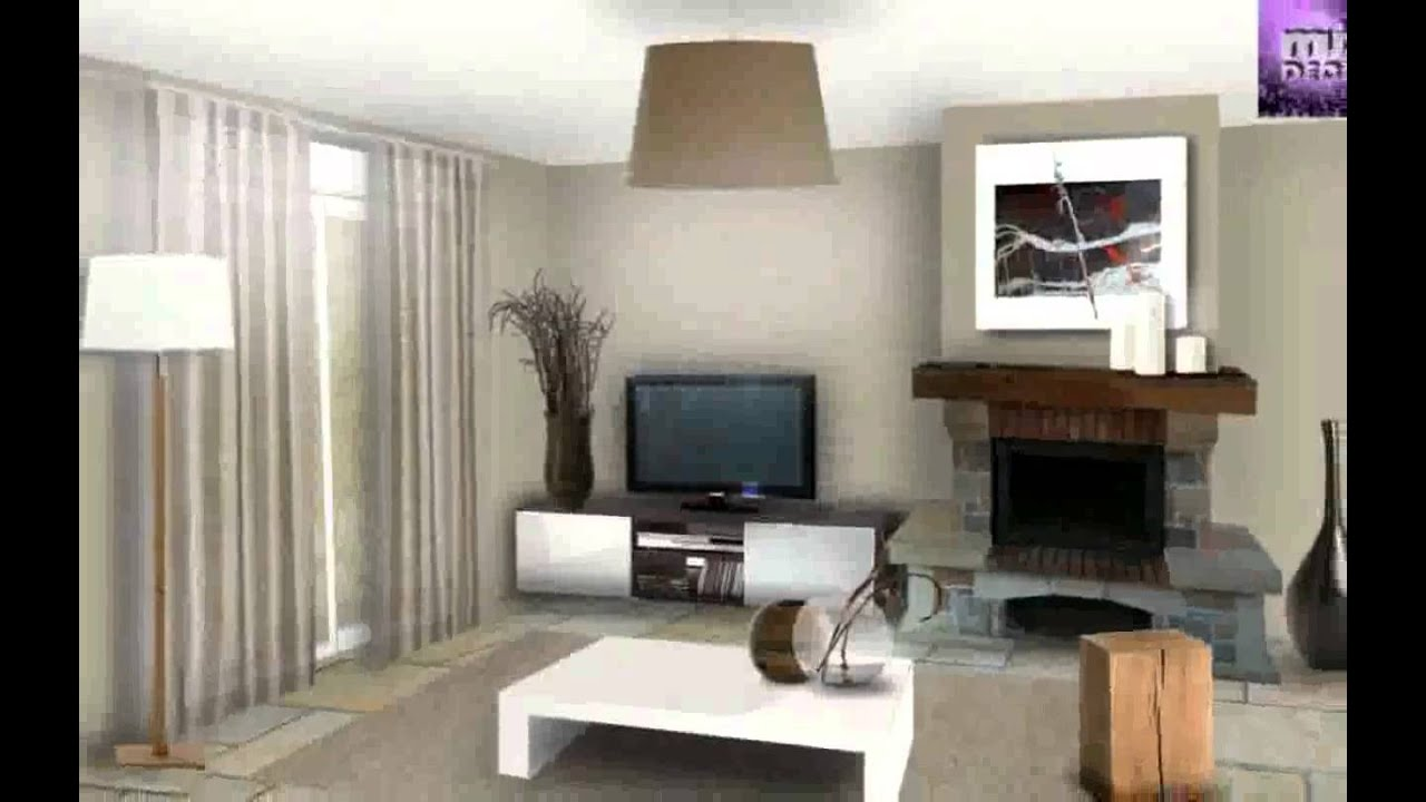 D co int rieur moderne youtube for Decoration interieur bois moderne