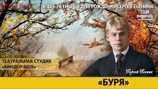 """Стихотворение """"Буря"""", Сергея Есенина"""