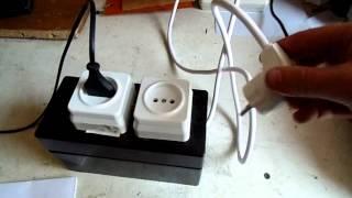 Самодельный разделительный трансформатор