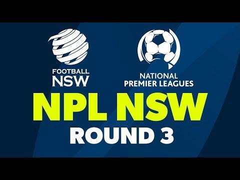 NPL NSW U20's, Round 3, Sydney FC v Marconi Stallions FC #NPLNSW