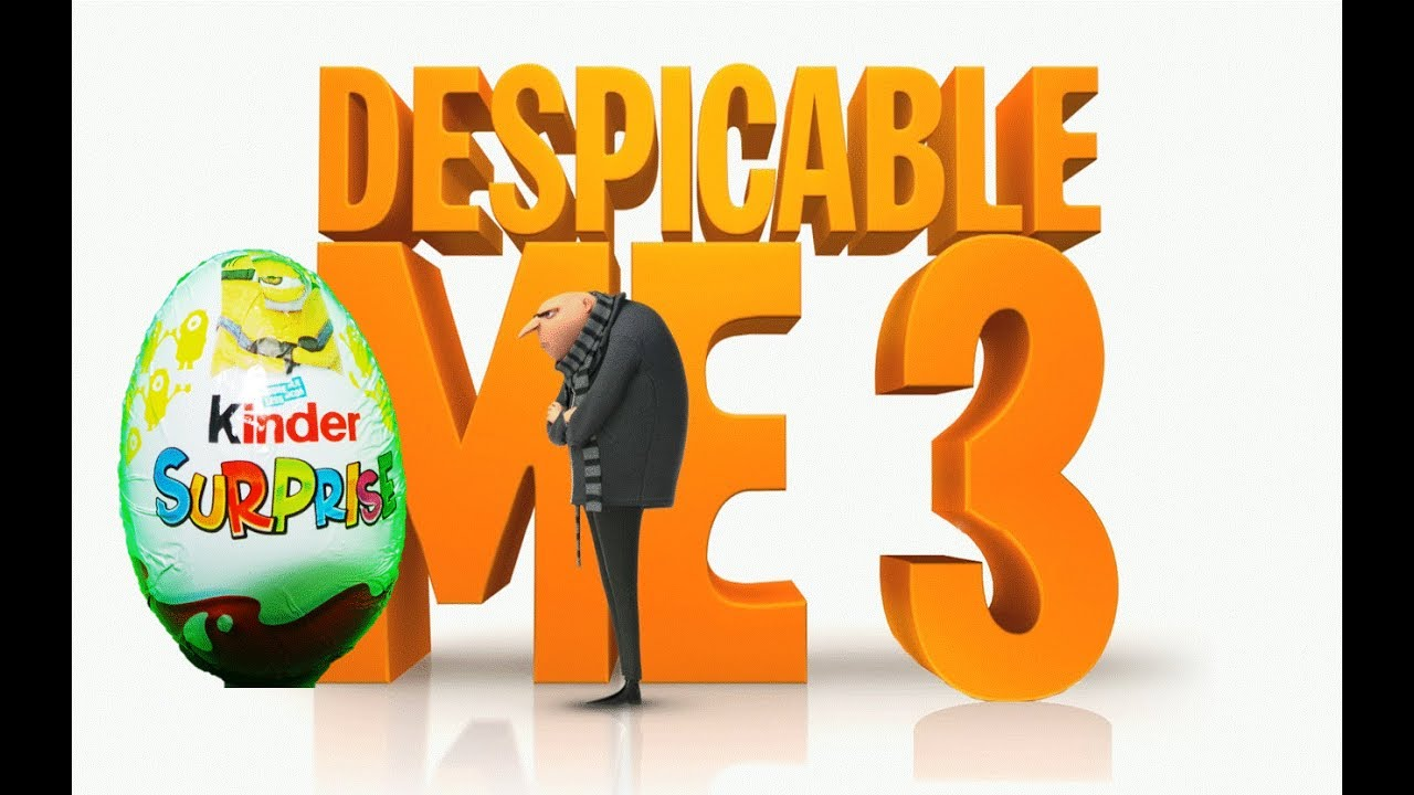 Download 🇺🇸 Despicable Me 3 (HD) - Kinder Surprise Toy Eggs - Official Toys
