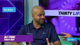 Ali Terai - Entrepreneurship is all about learning and applying the lessons (Ticker TV Interview)