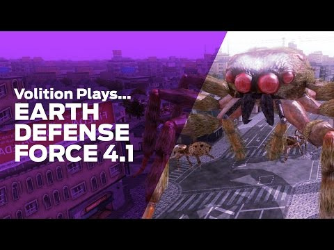 Volition Plays: Earth Defense Force 4.1