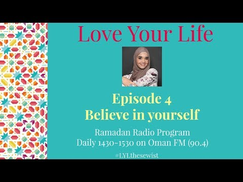 EP 4 Believe in Yourself | Love Your Life | The Sewist