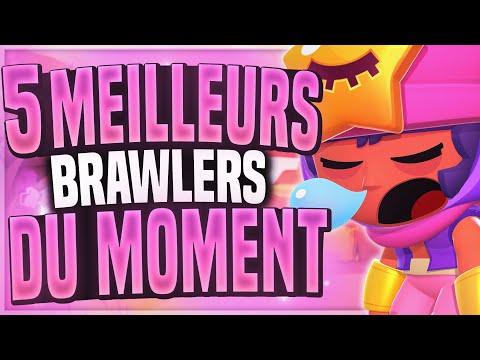 Les 5 MEILLEURS BRAWLERS du MOMENT (la méta) #4 - BRAWL STARS FR