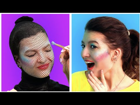 COOL BEAUTY HACKS AND TIPS || DIY Makeup by 6 - Teen !