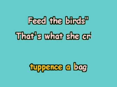 VDEKAR08087 Disney's 'Mary Poppins' Feed The Birds Tuppence A Bag