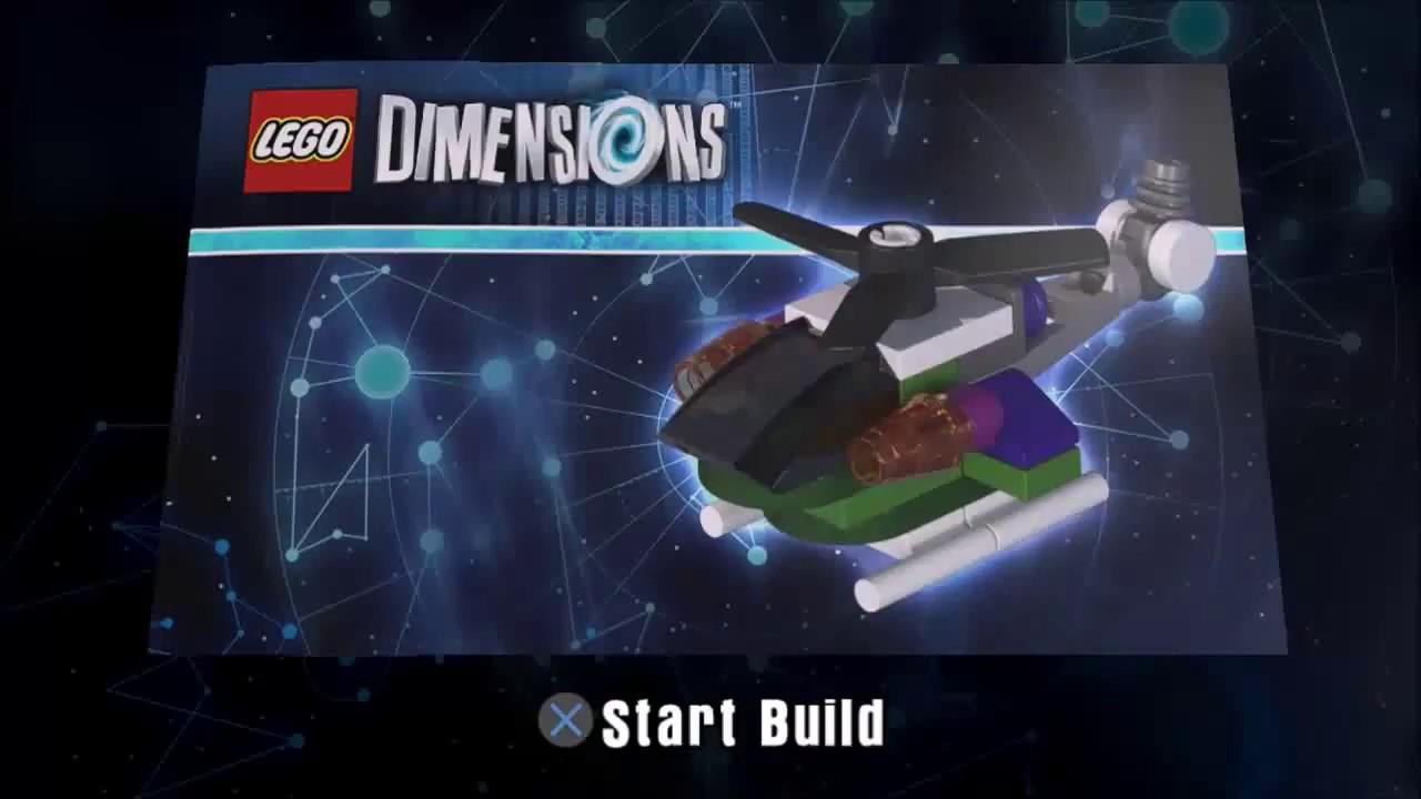 lego dimensions the joker 39 s chopper building. Black Bedroom Furniture Sets. Home Design Ideas