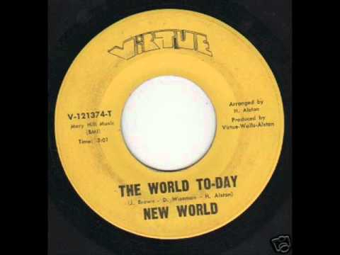 New World - The World To-Day (FUNK 45s)