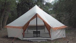 Camping (Fail) with a Walmart Yurt (Read the Description Box)