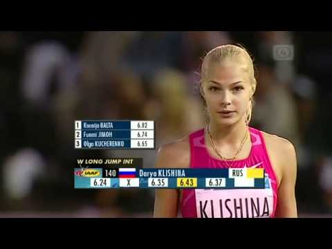 Darya Kishina – Russian track star