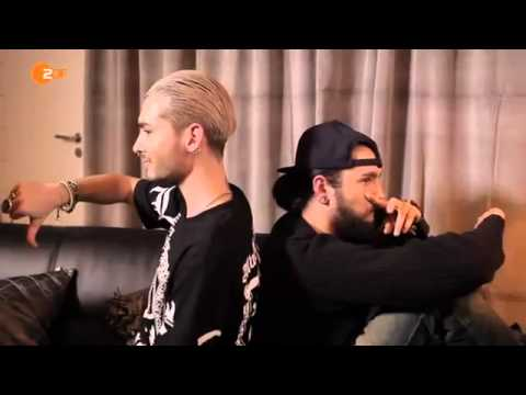 Bill & Tom Kaulitz (Tokio Hotel) Twin Interview Wetten Dass (English subtitles)
