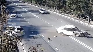 CCTV CAR CRASHES COMPILATION 2018 #EP. 20