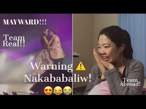 MAYWARD lyrical dance!Super Kilig! team abroad reaction vidieo