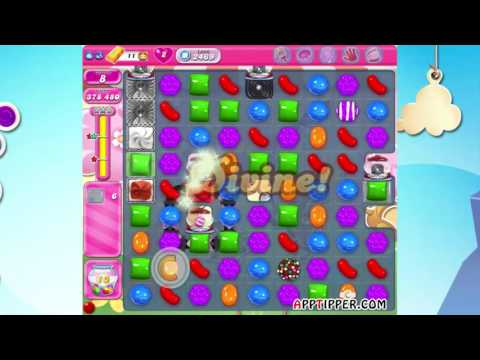 Candy Crush Saga Level 2469 - No Boosters