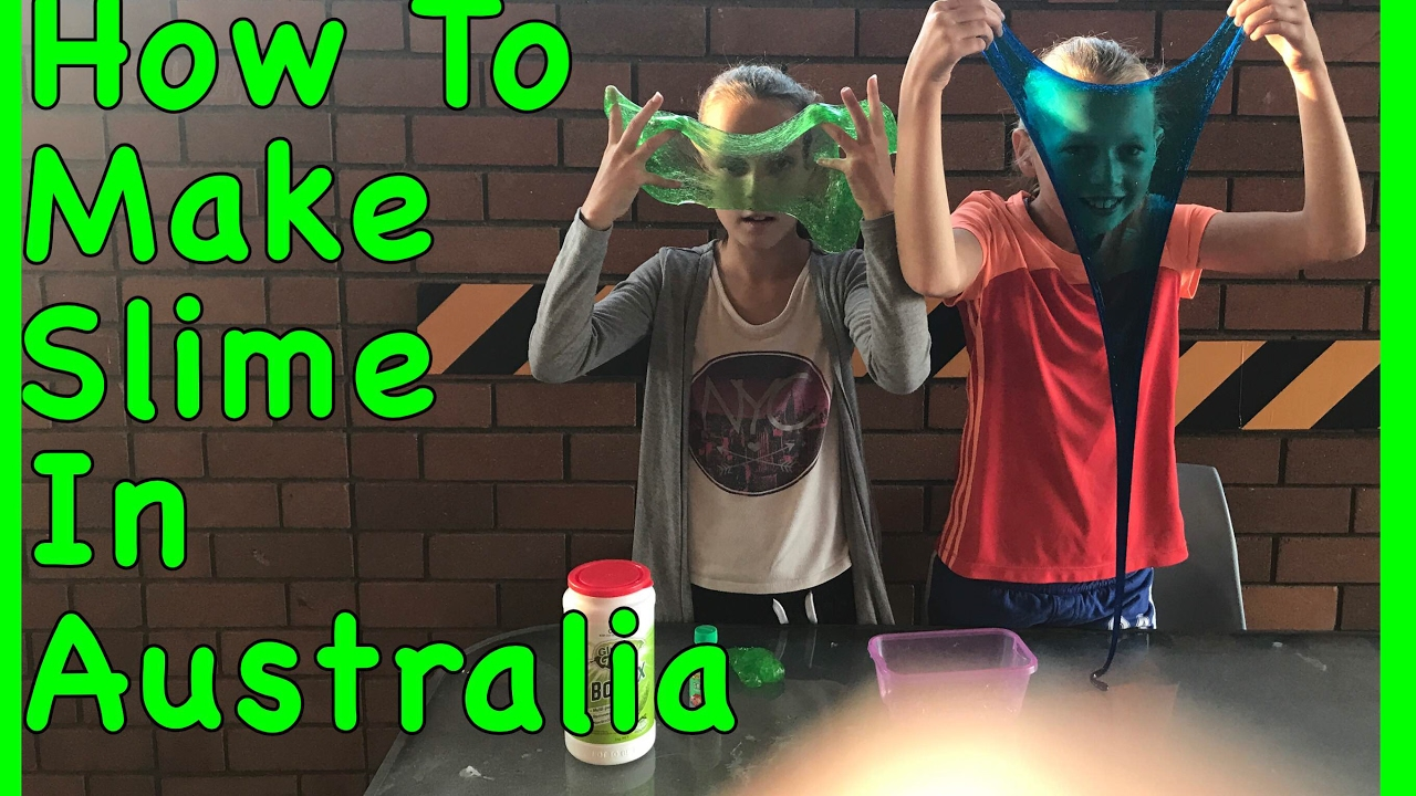 П��🦐how To Make Slime In Australia, Straya Made Slime🦐😎