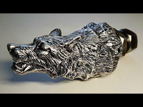 Способ литья из алюминия полой детали по выплавляемой модели
