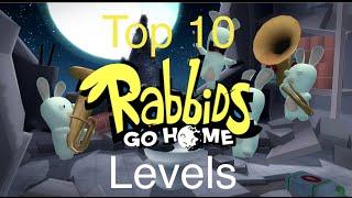 Top 10 Rabbids Go Home Levels