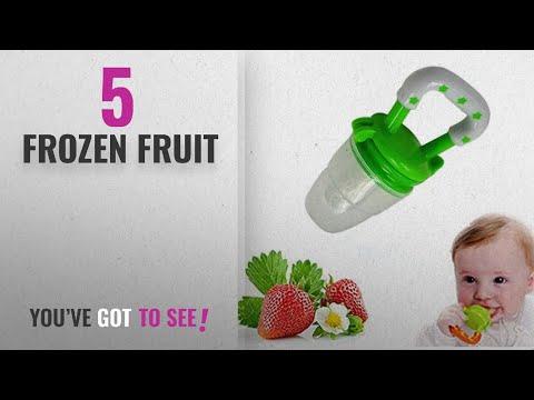 Top 10 Frozen Fruit [2018]: Hosaire Baby Food Feeder, Fresh Fruit Feeder Infant Teething Toy
