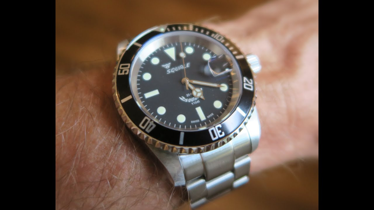 youtube stainless steel atmos dive dial automatic watch strap style watches squale bracelet nato w maxi original