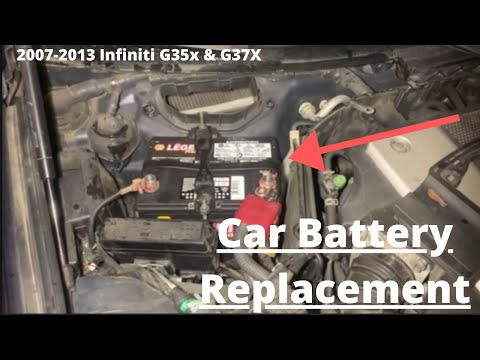 How to Replace Car Battery Infiniti