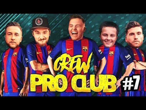 HEIßE DISKUSSIONEN BEI PRO CLUBS ☠️ FIFA 18 CREW PRO CLUBS #7