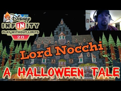 Disney Infinity 2.0 Toy Box Lord Nocchi, A Halloween Tale