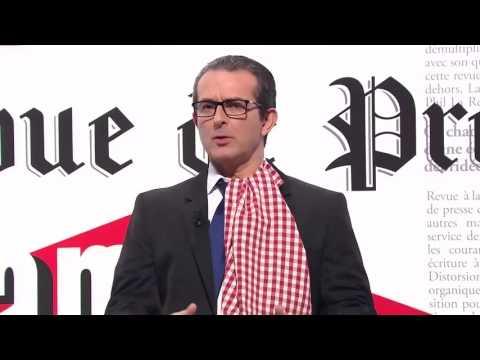 François Hollande à Lyon avec La Revue de Presse