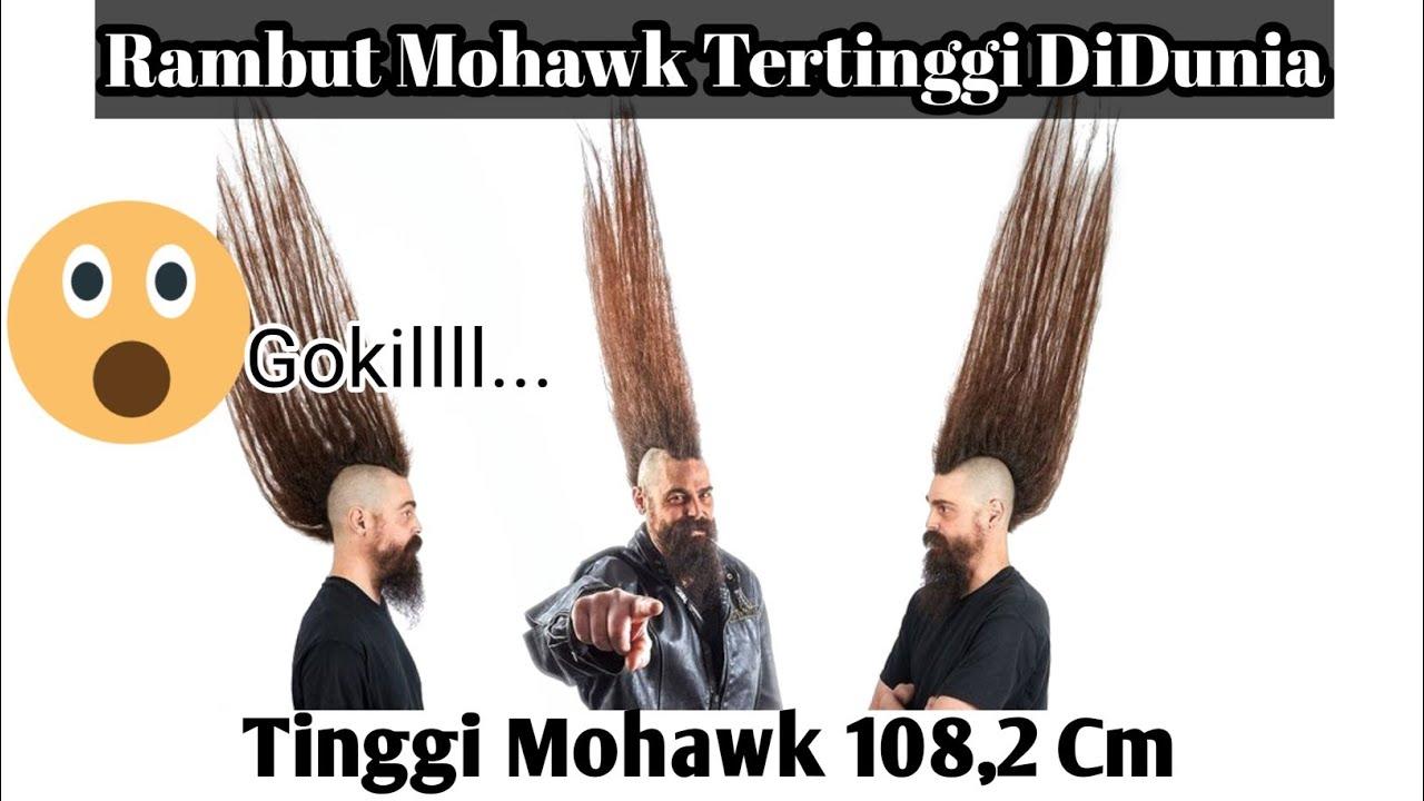 Guinness World Record Rambut Mohawk Tertinggi Di Dunia