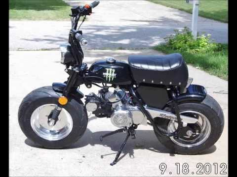 Custom Honda Z50... - YouTube