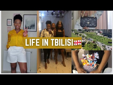LIFE IN TBILISI VLOG 02   Shopping, Fashion Haul, Birthday Party
