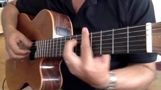 """Fingerstyle """" DELILAH """" Tom Jones Cover"""