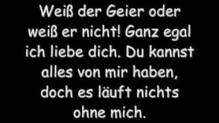 Wolfgang Petry - Weiß der Geier - mit lyrics (Original + HQ)