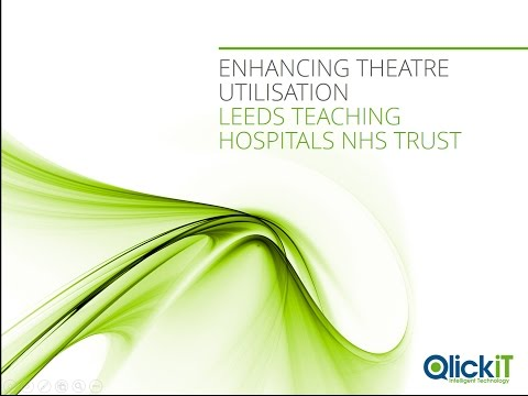 Enhancing Theatre Utilisation at Leeds Teaching Hospitals