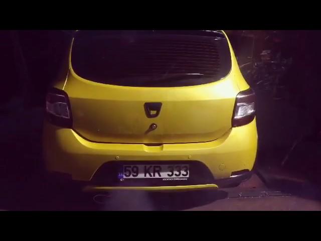 Dacia Sandero 1.5 Dizel Egzoz Sesi