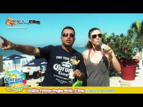 Spring Break 2017 Puerto Vallarta Mexico Beach Fest.