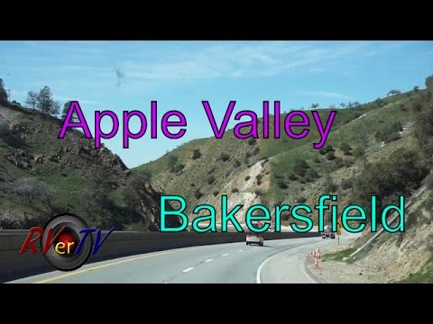 California Trip Day 2...Apple Valley...Kramer Junction....Bakersfield...RVerTV