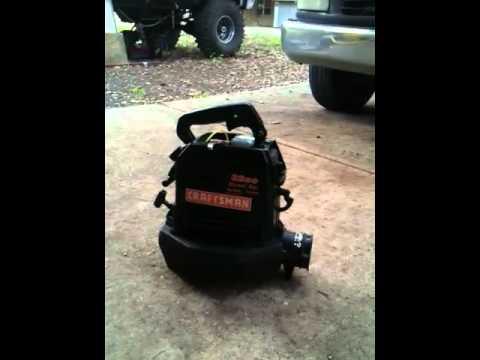 Craftsman 32cc Gas blower Manual