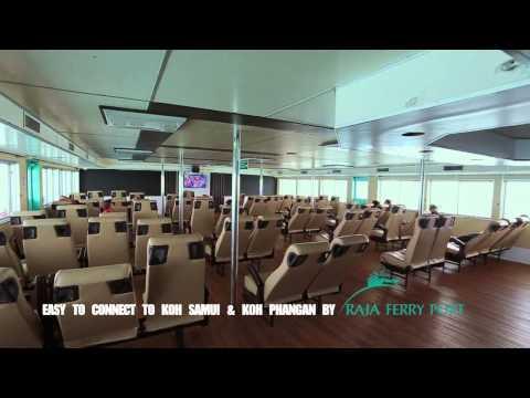 Travel to Koh Samui with Raja Ferry