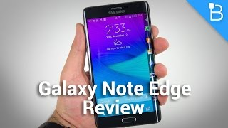 Samsung Galaxy Note Edge Review: Not Just A Gimmick After All