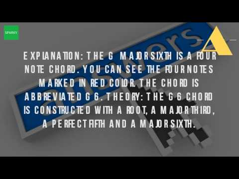 What Is A G6 Chord On Guitar? - YouTube