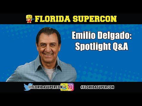 Emilio Delgado Q&A at Florida Supercon 2016