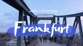 🇩🇪【フランクフルト便】片道オペレートのんびりなレイオーバー。
